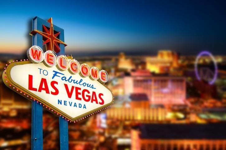 Willkommen-Schild in Las Vegas