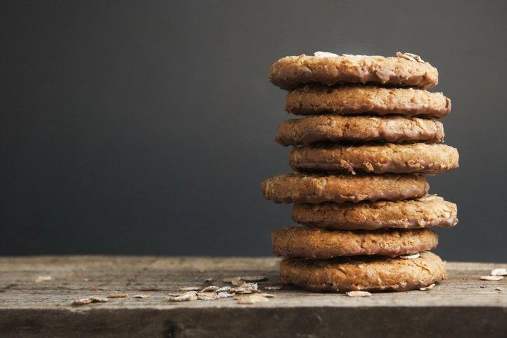 Ein Stapel Cookies