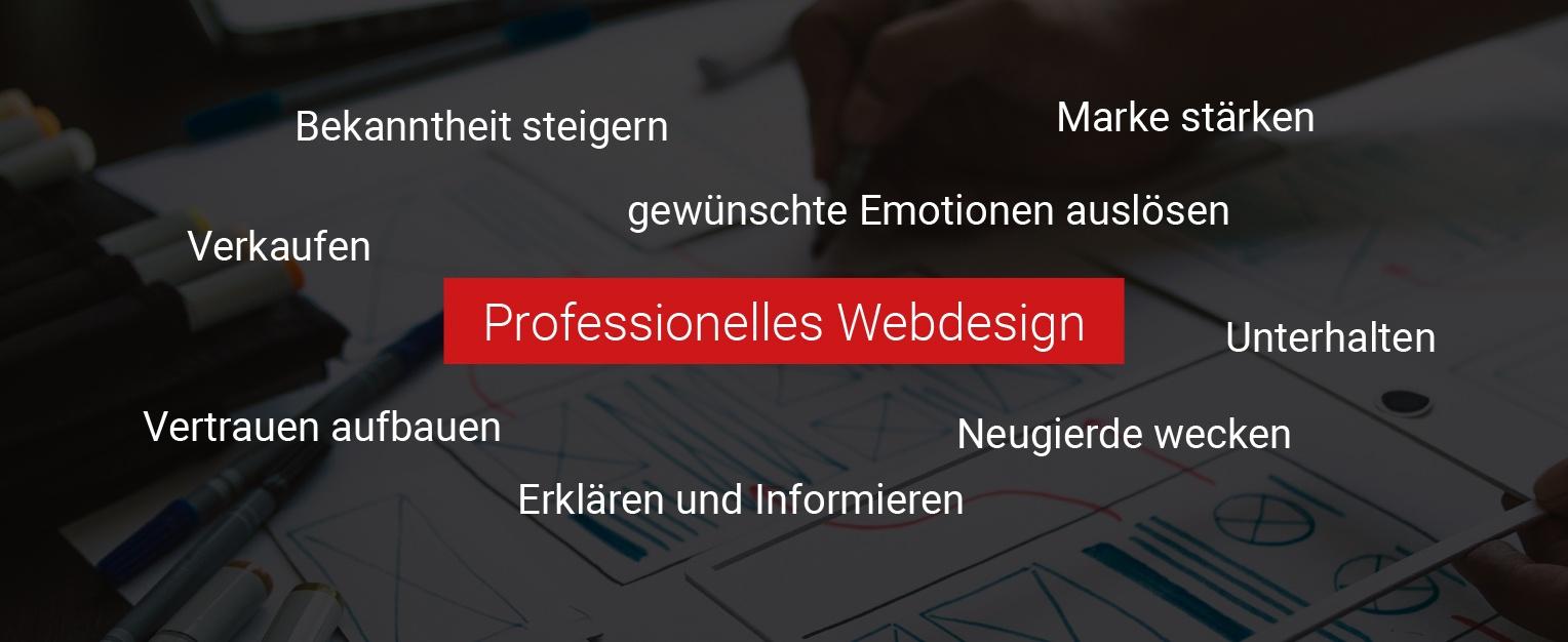 """Buzzwörter zu """"Professionelles Webdesign"""""""