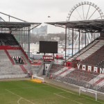 Foto eines Stadions