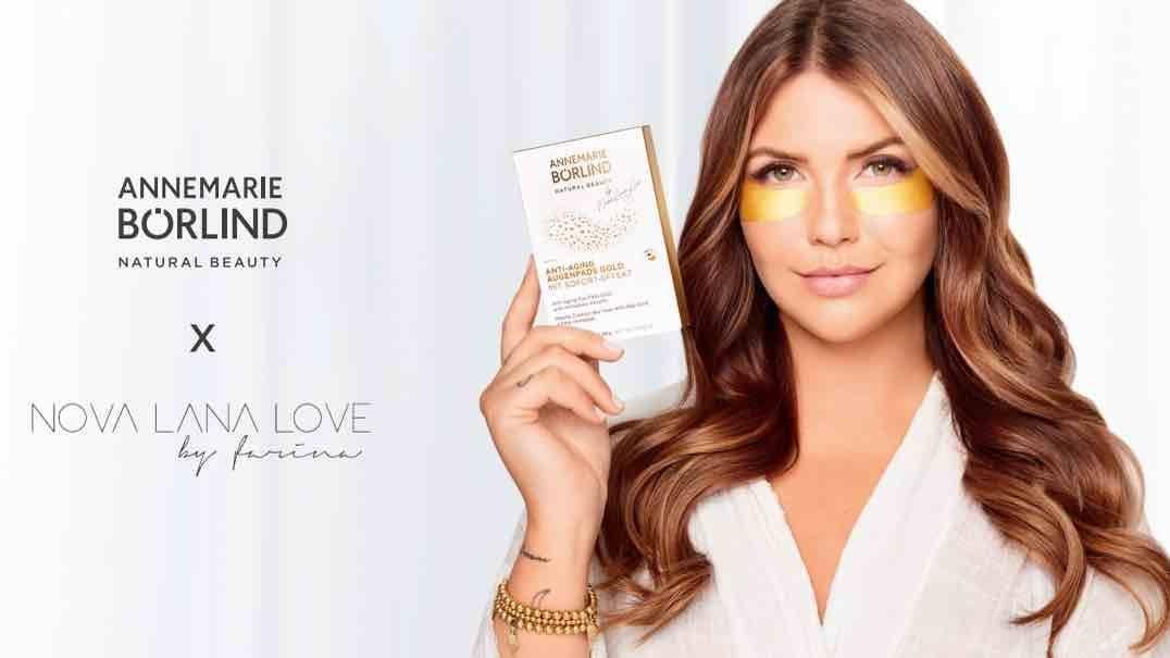 Kampagne von Annemarie Börlind mit Nova Lana Love by Farina