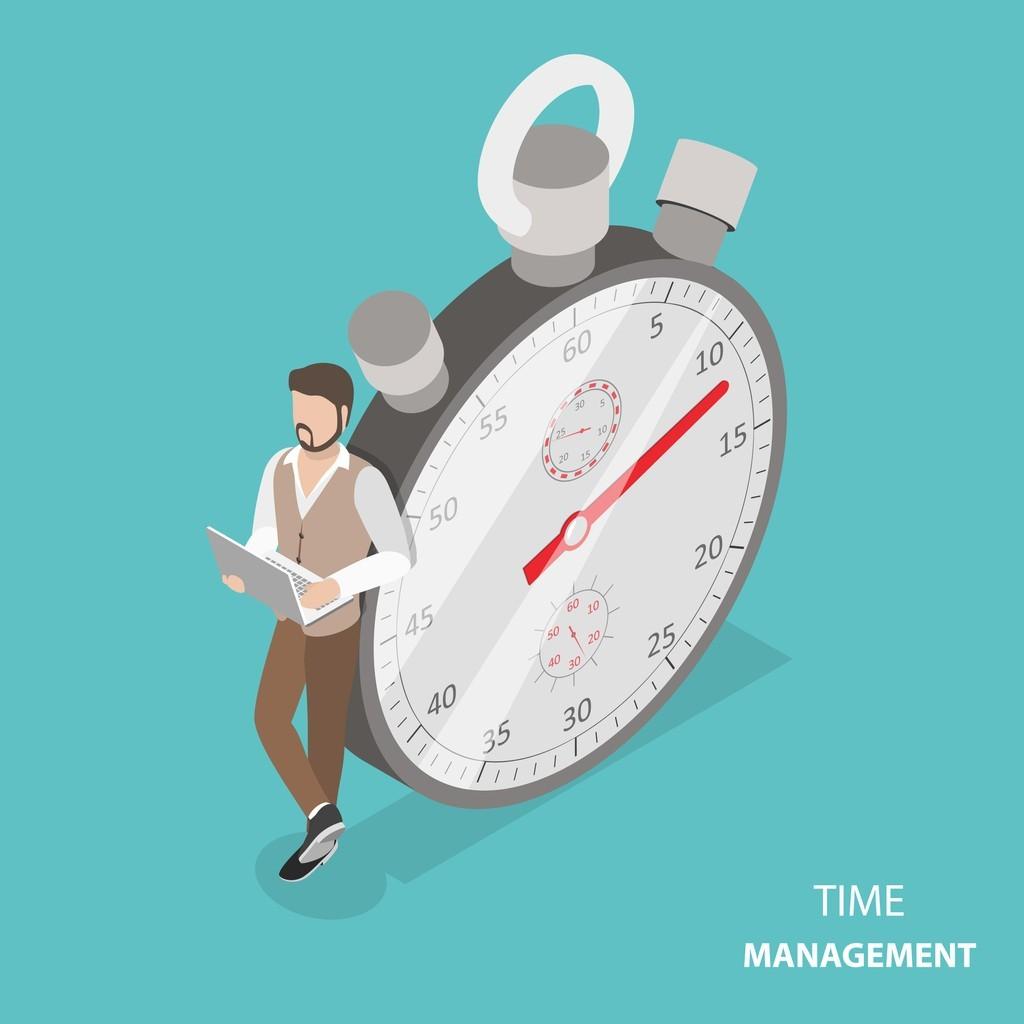Beispielbild für Online Bereich und Zeit ist Geld