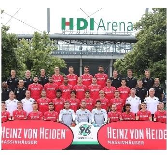 Heinz von Heiden Massivhäuser und Hannover 96