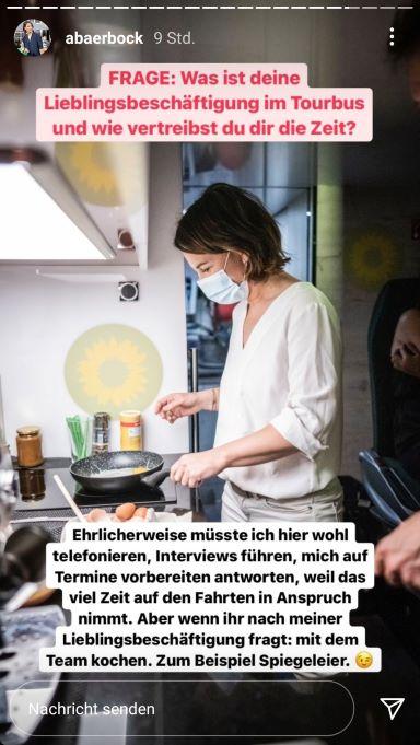 Instagram-Story von Annalena Baerbock Teil 3