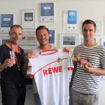 web-netz und 1. FC Köln starten Zusammenarbeit