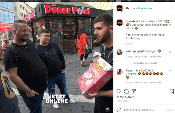 Instagram-Beitrag 4bro.de