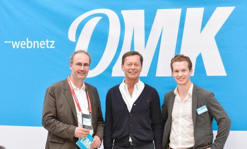Marc Rath, Dr. Thomas Middelhoff, Patrick Pietruck - OMK 2018