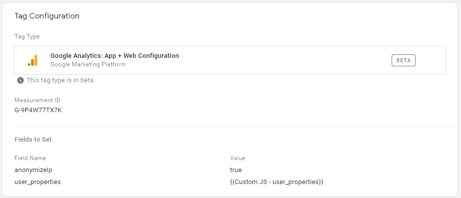 Screenshot von Google-Analytics