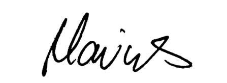 Unterschrift Marius