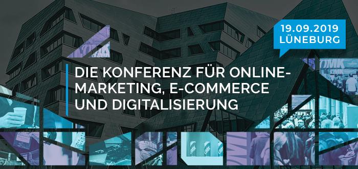 Terminankündigung Online Marketing Konferzen 2019