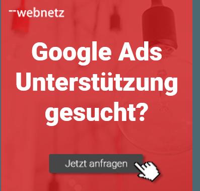 Fragen zum Thema Google Ads? web-netz hilft
