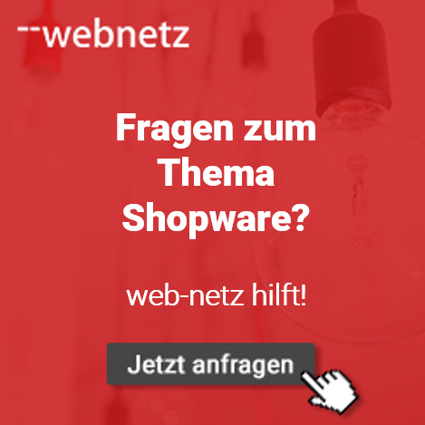 Fragen zum Thema Shopware? web-netz hilft!
