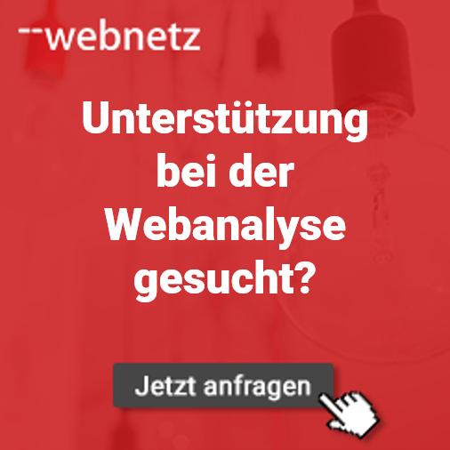 Unterstützung bei der Webanalyse gesucht? Wir helfen