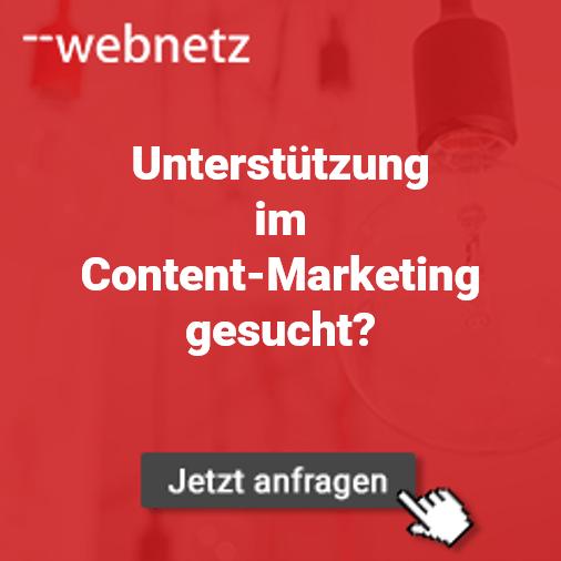 Unterstützung im Content-Marketing
