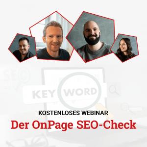 Webinar On-Page SEO Check