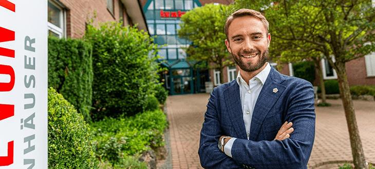 Dr. Helge Mensching, Geschäftsführer Heinz von Heiden Massivhäuser