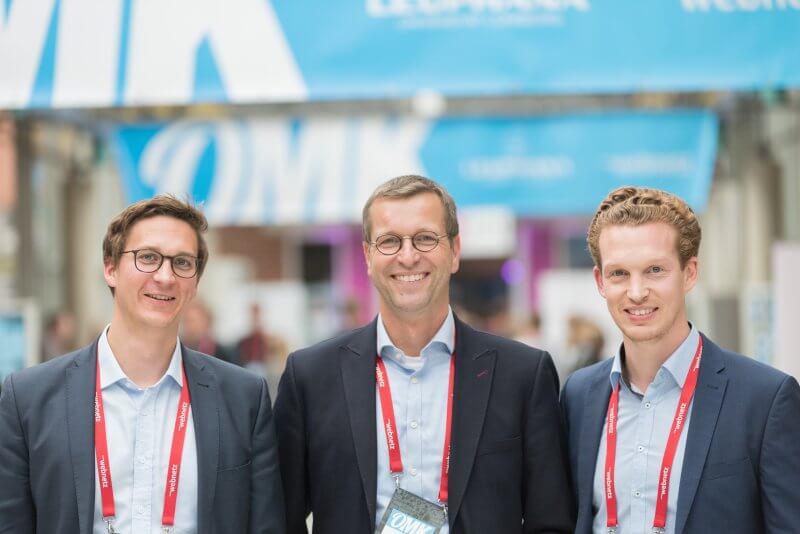 Veranstalter Sebastian Loock, Prof.Dr. Burkhard Funk, Patrick Pietruck - OM 2018