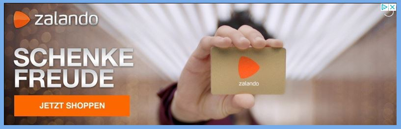 Beispiel Zalando-Werbung