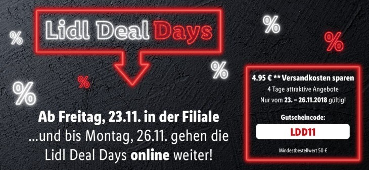 Black Friday: Lidl Deal Days