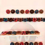 web-netz Neujahrsempfang Donutwand