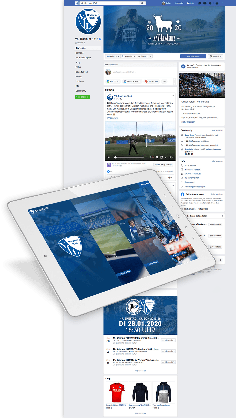 Case Study VfL Bochum web-netz