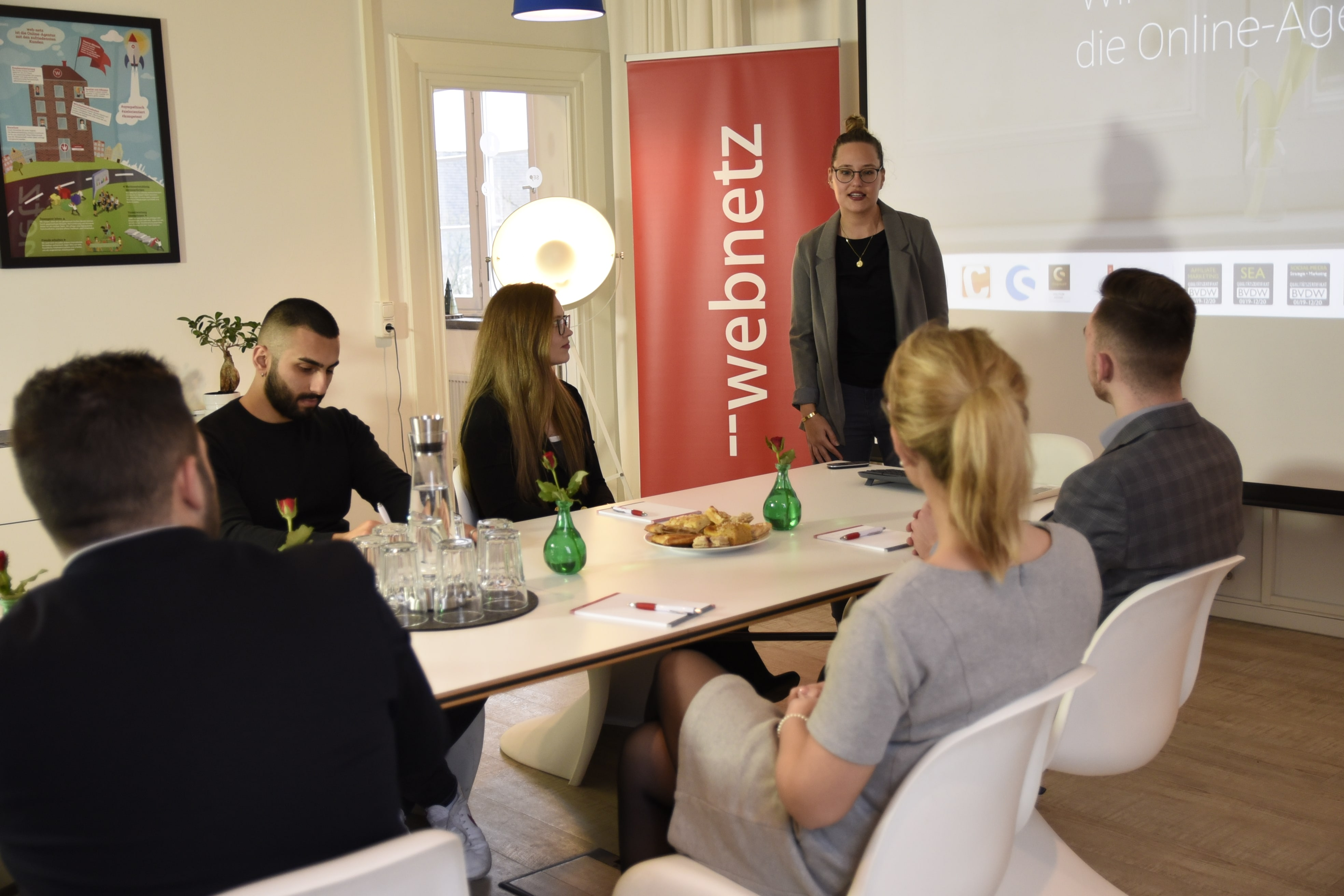 Social Media Marketing Seminar mit Sarah