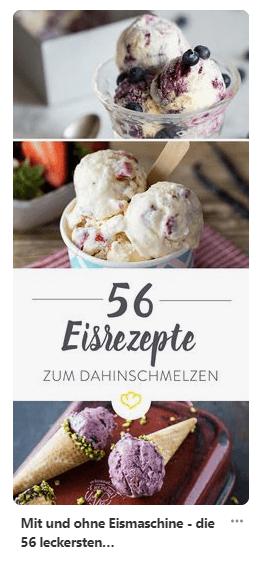 Teaser mit Ideen für Eisrezepte
