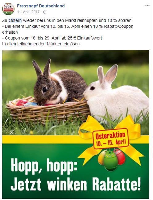 Ostern-Rabattaktion