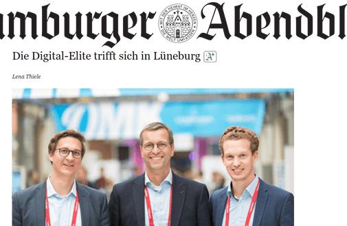 "OMK 2019: Die Digital-Elite trifft sich in Lüneburg – ""Hamburger Abendblatt"""