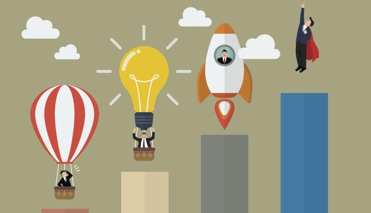 Helden & Erfinder: Heißluftballon, Glühbirne, Rakete, Superman