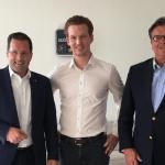 """CDU-Generalsekretär Kai Seefried spricht bei web-netz mit Mittelständlern – """"LZ"""""""