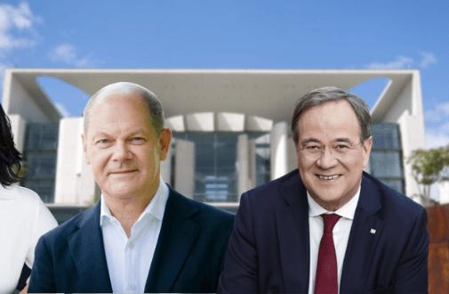 web-netz liefert Antworten auf die K-Frage: Wer liegt im Bundestagswahlkampf nach Social Media-Punkte...