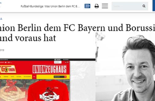 """Online-Shops der Fußball-Bundesliga Clubs im Ladezeiten-Check: Was Union Berlin dem FC Bayern und Borussia Dortmund voraus hat – """"HORIZONT"""""""