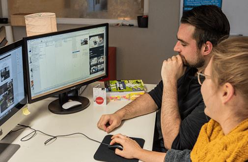 Wie werde ich Mediengestalter/in? – web-netz im Interview mit der dpa