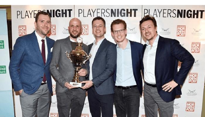 Patrick Pietruck und Felix Benckendorff bei der MOPO Playersnight