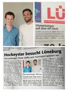 Lünepost-Artikel vom 04. Mai 2019 zum Besuch von Moritz Fürste bei web-netz