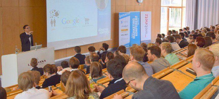 Sebastian Loock bei der Online Marketing Konferenz in Lüneburg