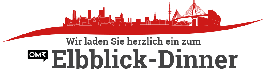Hamburg Skyline Elbblick-Dinner Logo