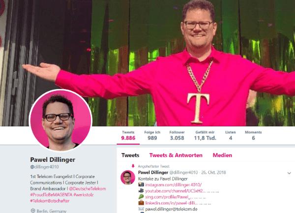 Pawel Dillinger Screenshot Twitter