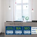 Ausgezeichnet: Vier BVDW-Zertifikate für web-netz