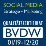 BVDW Zertifikat für SMM 2019/2020