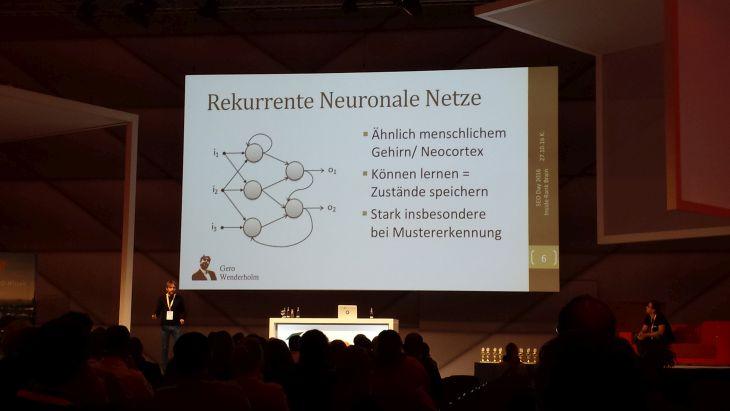 Gero Wenderholm - Vortragsbild neuronale Netze