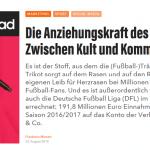 """web-netz sports – Die Anziehungskraft des Trikots: Zwischen Kult und Kommerz – """"lead-digital.de"""""""