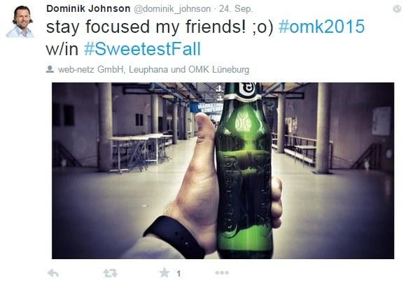 Tweet OMK 2015