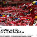 """web-netz sports – Zwischen Emotion und SEA: Merchandising in der Bundesliga – """"SPONSORs"""""""