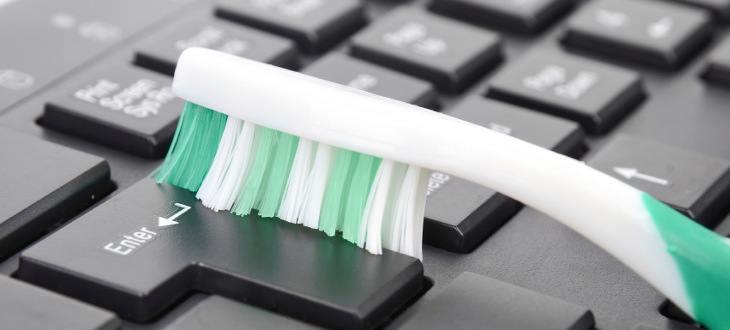 Tastatur sauber