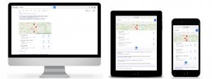 implizite Suche Tankstelle (desktop, tablet, smartphone)