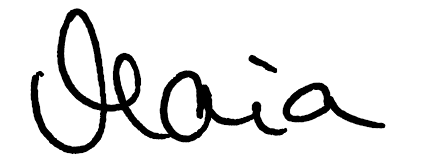 Maia Unterschrift