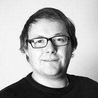 Mitarbeiterfoto von Marc Kroeger in Schwarz-Weiß