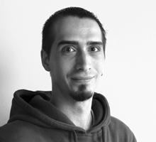 Mitarbeiterfoto von Marcus Ibsch in Schwarz-Weiß